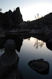 pinnacles dam