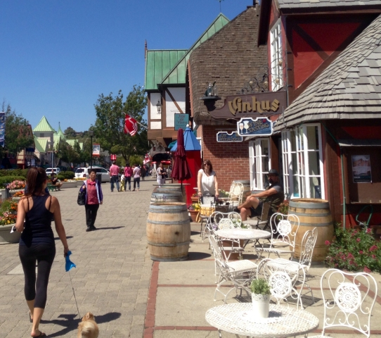 the traveling pomeranian solvang