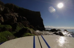 Gopro santa cruz surf cliff
