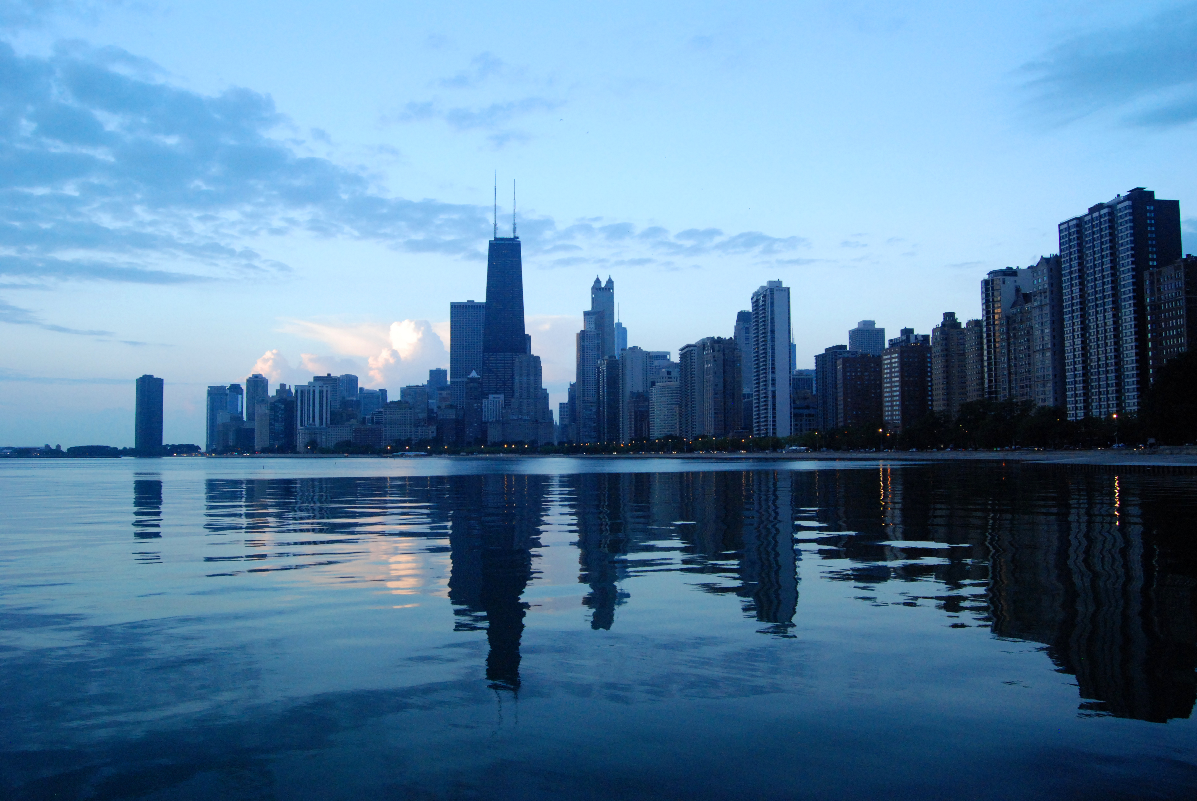 Lake Shore Drive Downtown Chicago Shore Looks Nice