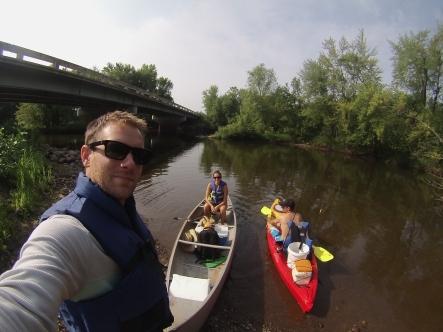 rum river canoe