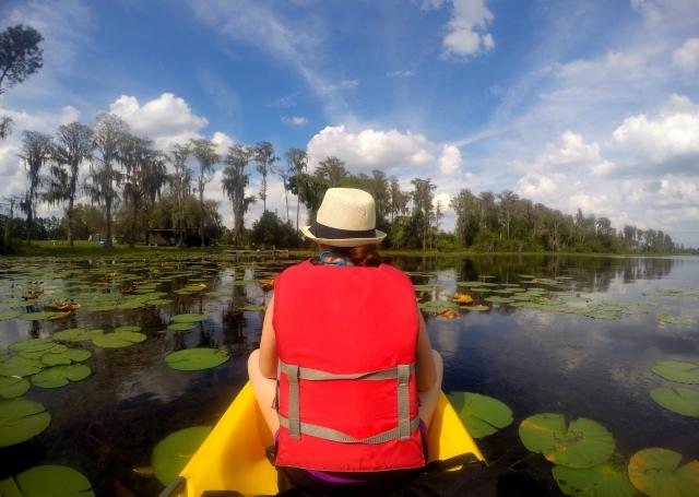 RV Activity, Kayaking