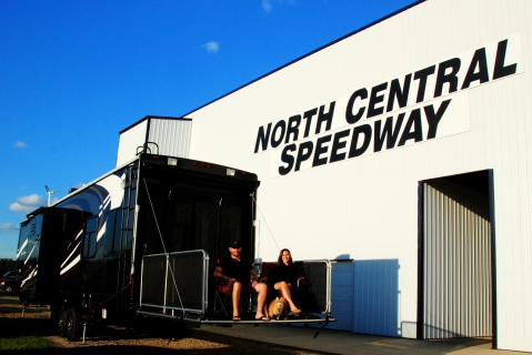 Camping at the Races in brainerd