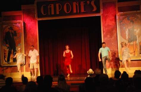 capones dinner show review