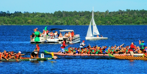 Dragon Boat races bemidji mn