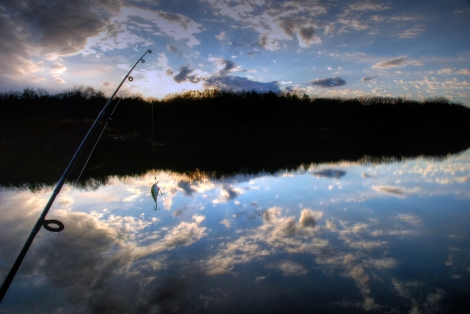 Fishing is such a popular activity among RVers. This was taken while on an RV Trip to Texas.