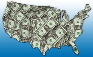 U.S.-Map-Money-Public-Domain