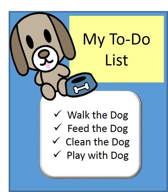 dog-to-do list rv