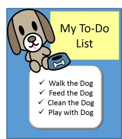 dog-to-do list rv