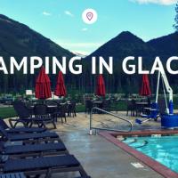 Glamping in Glacier National Park at the KOA