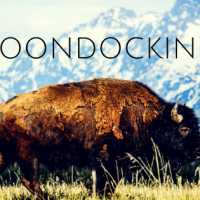 Boondocking at the Grand Teton View
