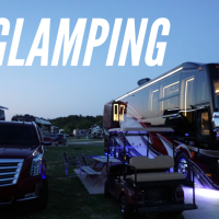 What is RV Glamping at a Resort?